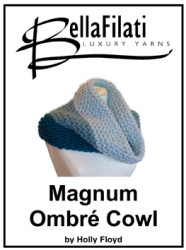 Quick Knits Magnum Ombre Cowl