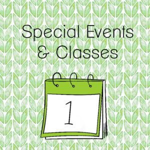 Special Events and Classes